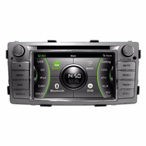 Central Multimídia Caska Toyota Hilux Sw4 Dvd Gps Tv Ca163