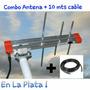 Antena Tda Tv Digital Abierta La Plata +10 Mts De Cable Rg59