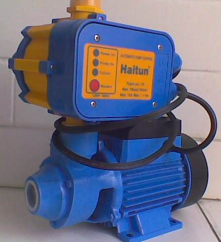 Presurizador haitun con bomba aqua pak de 0 5 hp ap 4 for Como instalar un estanque de agua