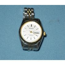 Reloj Michele Para Dama Con Calendario Y Fechador Hm4