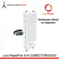 Ligowave Rapidfire 5n Conectorizado 700mbps 5ghz No Ubiquiti