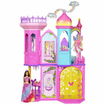 Barbie Dreamtopia Castelo Arco-íris - Mattel Dpy39