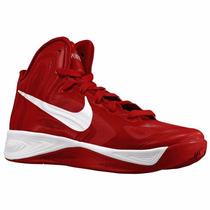Nike Hyperfuse 2012 Tenis Basketball Basquetbol Rojos/blanco