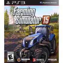 Farming Simulator 15 Ps3 Mídia Física Lacrado Original Novo