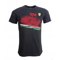 Playera Puma Scuderia Ferrari Graphic Tee1 Talla Chica