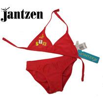 Envio Traje Bano 2 Anos Bikini Nina 24 Meses Jantzen Rosa