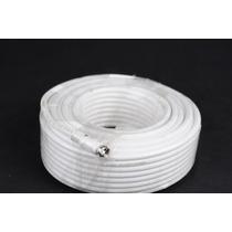 Cable Coaxial Rg6 En Bobina Con 2 Conectores 9 Metros