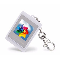 Porta Retrato Digital Chaveiro Reprodutor De Fotos