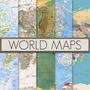 Mapa Mundi Gigantes, Planisferios, Varios Tamaños. Modelos B