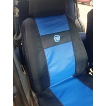 Capas De Couro Courvin/tecido Fiat,gm,vw,ford Azul,vermelho