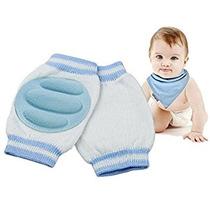 Azul Bebé Calentadores De La Pierna Del Bebé Del Algodón D