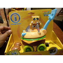 X4079 Bob Esponja Vehiculo Hamburguesa. Fisher Price.