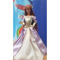 Barbie Vintage Pelirroja Con Vestido De Princesa Medieval