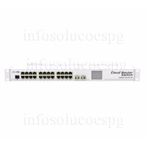 Mikrotik Cloud Router Switch Crs226-24g-2s+rm L5