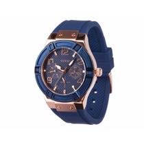 Reloj Guess W0571l1 Azul Unisex 100% Original Envío Gratis*