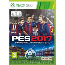 Pro Evolution Soccer Pes 2017 - Xbox 360 Ya Disponible Fgk