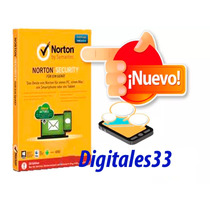 Norton Security Esencial 2016 1 Año 1 Dipositivo Pc O Mac