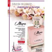 Nuevo Perfume Allegra Women By Candela 50 Ml