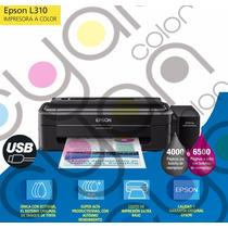 Impresora Ecotank Epson L310 Preparada Para Sublimacion