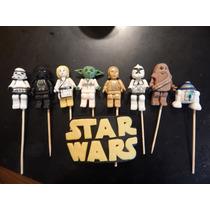 Lego Star Wars En Porcelana Fria Para Tu Torta