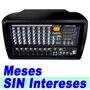 Mezcladora Sistema Amplificador 8 Canal Independientes Xaris