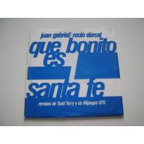 Juan Gabriel & Rocio Durcal Remixes Que Bonito Es Santa Fe