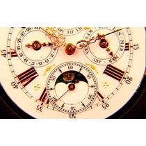 Reloj De Bolsillo Fase Lunar Y Calendario. Año 1900. Omm