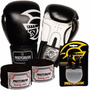 Kit Boxe Training Pretorian -16 Oz Preto