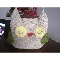 Carterita Lechuza- En Crochet-