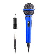 Microfono Profesional Karaoke Multimedia C/ Convertidor Azul