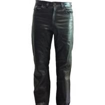 Pantalón De Piel Estilo Corte Levis 501