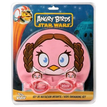 Set Voit Angry Birds Star Wars Princesa,luke,chubaca Yvader