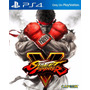 Street Fighter V Ps4 Fisico Sellado Raul Games