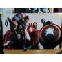 Thor- Iron Man- Captain América Cuadro