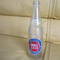 Antigua Botella De Refresco Doble Cola Año 1965