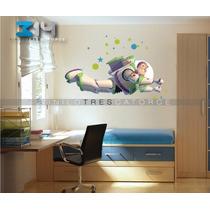 Vinilo Decorativo Toy Story-i 04, Calcomanía De Pared Buzz.
