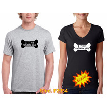 Playera I Love My Rescue Dog Mod. P2054