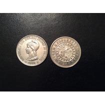 Moeda 500 Réis 1889 Em Prata - Mbc - Linda