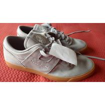 Tenis Reebok Casual Skate Cinza Solado Borracha Nike Asics