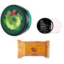 The Body Shop Gift Set Manteca Corporal Jabón Y Crema Facial