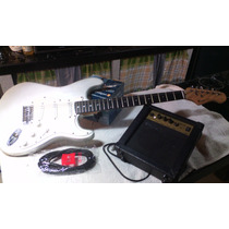 Guitarra Fretmaster K Series Con Cable Y Planta Todo!!