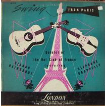 Jazz Inter, Django Reinhardt, Lp 10´, Hecho En Inglaterra