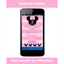 Invitación Digital Para Mandar Por Whatsapp