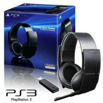 Headset Wirelles Stereo Sony Pulse Original 7.1 Ps3