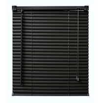 Persiana Pvc Off L140xa130 Cm Antialergica Preto - Evolux