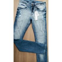 Calça Jeans Masculina Calvin Klein Skinny (ck) Com Lycra