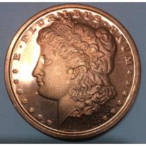 Moneda 1 Onza Cobre Puro. Usa