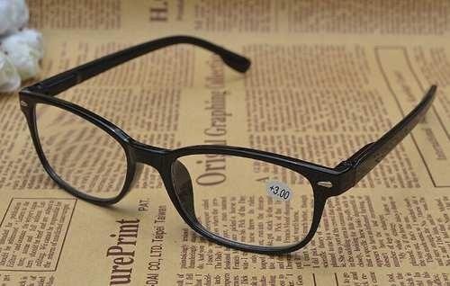 9b4e4495c1bd1 Armação Óculos Leitura Grau 1.50 Vintage Preto Muito Barato - R  10 ...