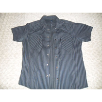 Camisa A Rayas Levis Impecable Talle M