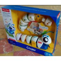 Fisher Price Gusano Oruga Armable Coder Robot Caterpillar